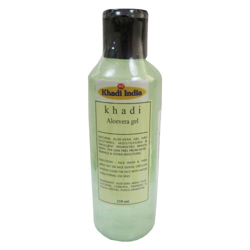 Khadi India Aloe-vera Gel (210ml)