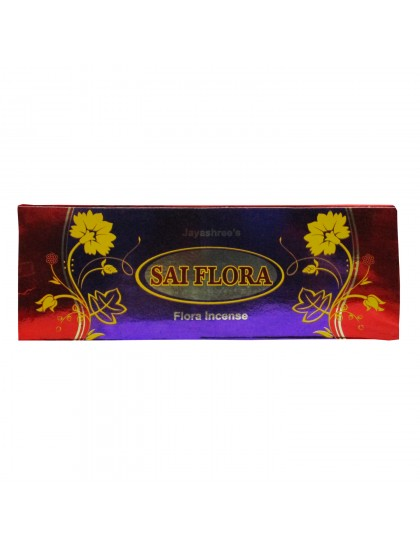 Khadi India Jayashree's Sai Flora Incense Sticks Box (50g)