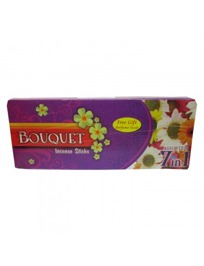 Khadi India Bouquet Incense Sticks Box (7 Packs X 210Gms)