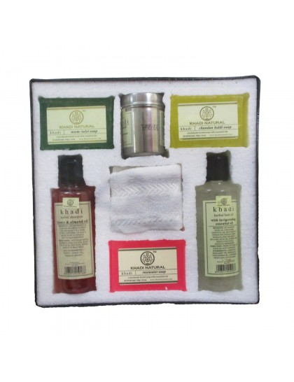 Khadi India Bath Kit