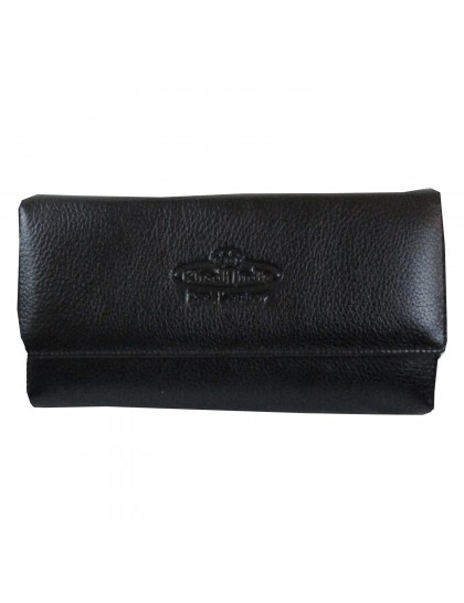 Khadi India Black Wallet For Women