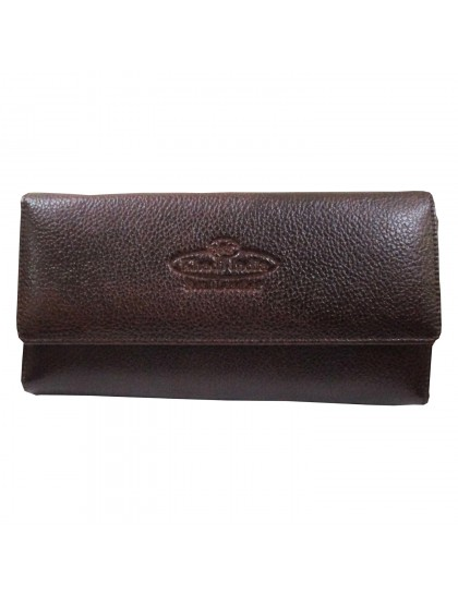 Khadi India Dark Brown Wallet For Women