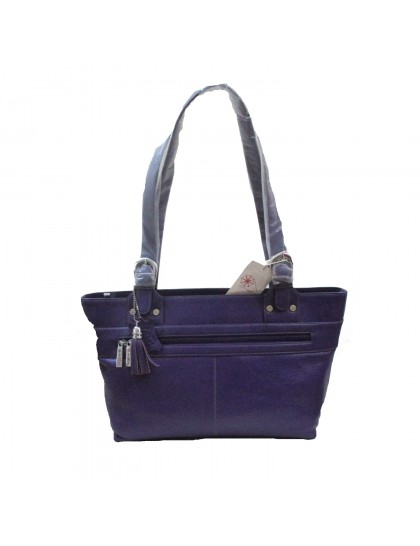 Khadi India Women Shoulder Bag (Purple)