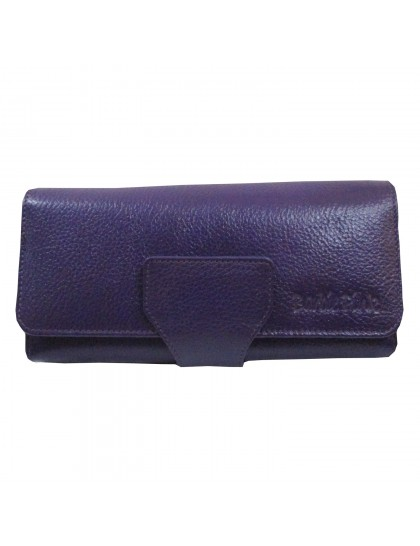 Khadi India Purple Wallet For Women