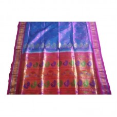 Fancy Mor Tissue Paithani Saree