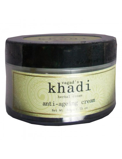 Khadi India Herbal Anti-Ageing Cream (50gm)