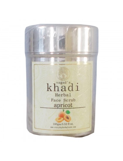 Khadi India Herbal Face Scrub-Apricot (100g)