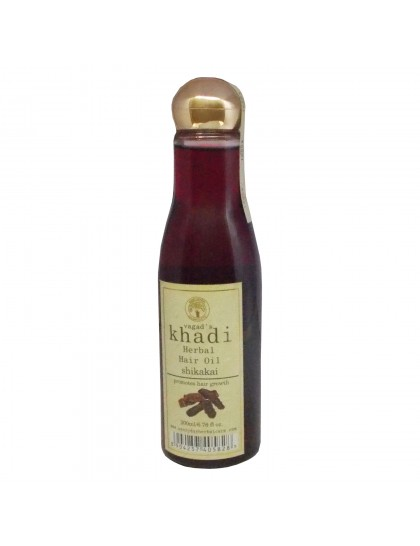Khadi India Herbal Hair Oil-Shikakai (200 ml)