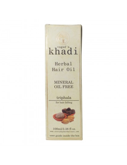 Khadi India Herbal Hair Oil-Triphala (100ml)