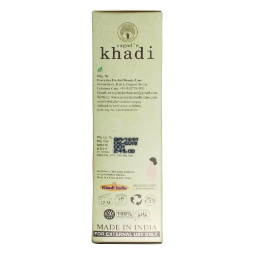 Khadi India Herbal  Massage Oil-Lemongrass (100ml)
