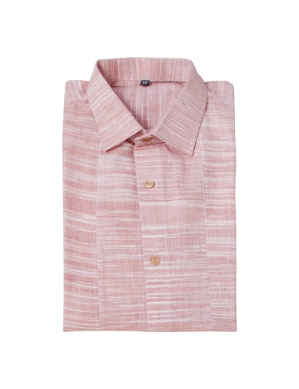 Khadi Cotton Shirt - Skin (Size - XXL)