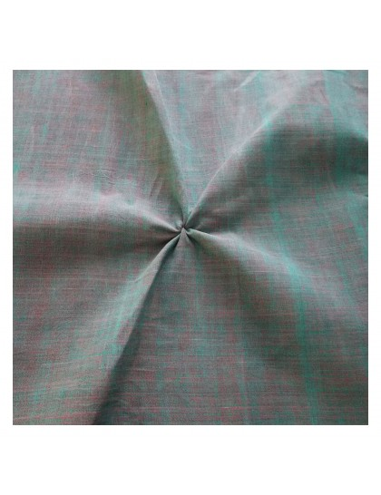 Khadi India Cotton Cloth Material - Mix Green