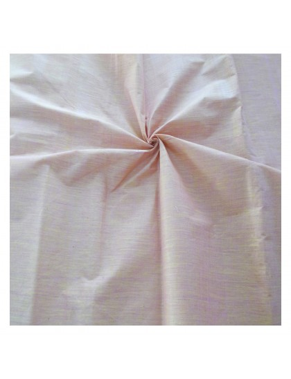 Khadi India Cotton Cloth Material - Peach