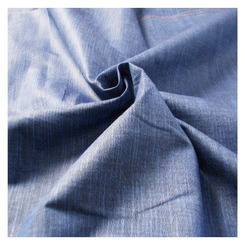Khadi India Cotton Cloth Material - Dark Blue