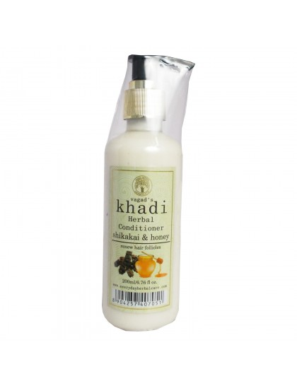 Khadi Herbal Conditioner-Shikakai & Honey (200ml)