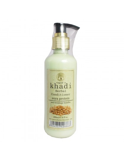Khadi Herbal Conditioner-Soya Protein (200ml)