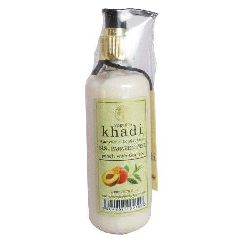 Khadi Ayurvedic Conditioner-Peach with Tea Tree (200ml)