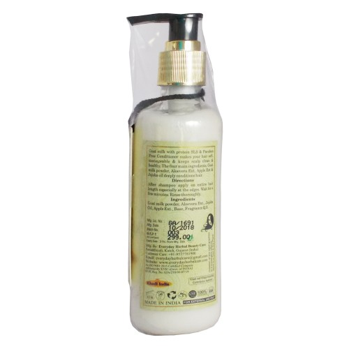 Khadi Ayurvedic Conditioner-Goat Milk with Protein (200ml)