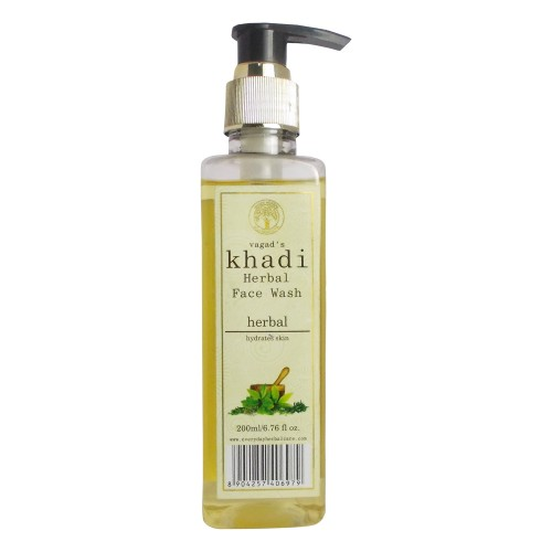 Khadi Herbal Face Wash-Herbal (200ml)