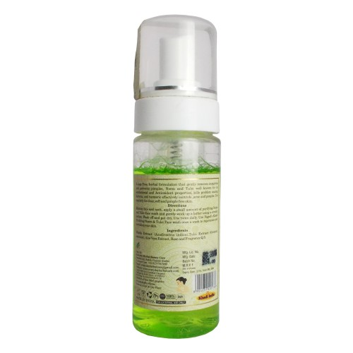 Khadi Herbal Face Wash-Neem & Tulsi (150ml)