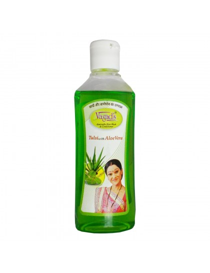 Khadi India Herbal  Shampoo & Conditioner-Tulsi with Aloe vera (200ml)