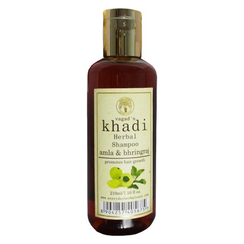 Khadi Herbal  Shampoo-Amla & Bhringraj (210ml)