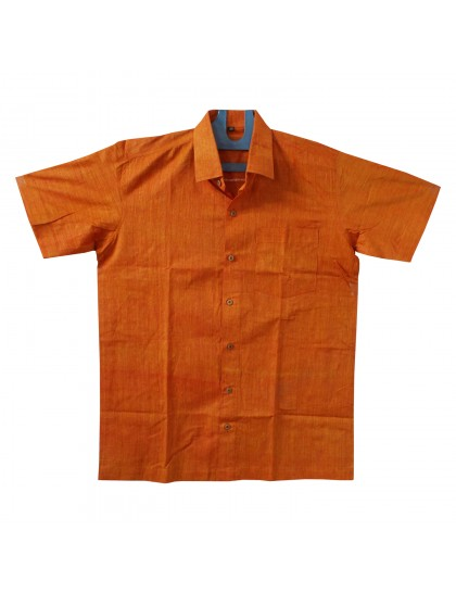 Khadi Cotton Shirt - Raddies Yellow (Size - 38)