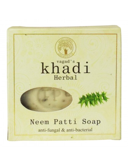 Khadi India Herbal Soap-Neem Patti (100g)