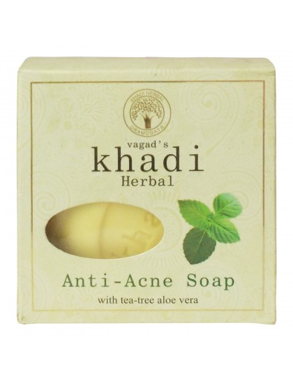 Khadi India Herbal Soap-Anti-Acne (100g)