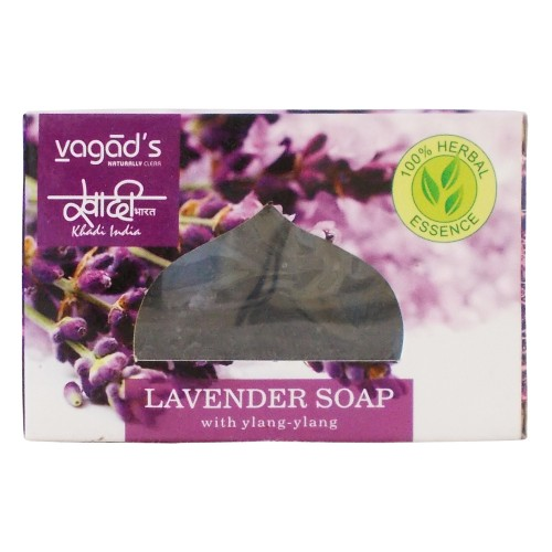 Khadi India Herbal Handmade Soap-Lavender (100g)