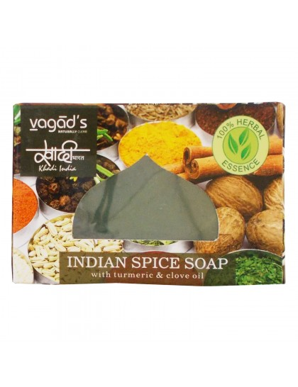 Khadi India Herbal Handmade Soap-Indian spice (100g)