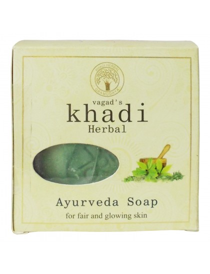 Khadi India Herbal Soap-Ayurveda (100g)