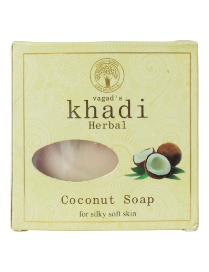 Khadi India Herbal Soap-Coconut (100g)