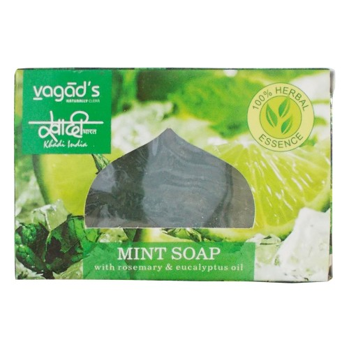 Khadi India Herbal Handmade Soap-Mint (100g)