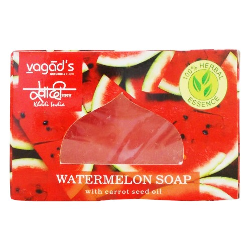 Khadi India Herbal Handmade Soap-Watermeon (100g)