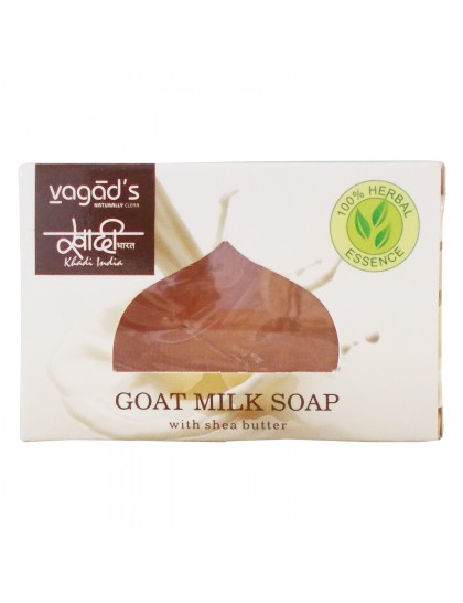 Khadi India Herbal Handmade Soap-Goat milk (100g)